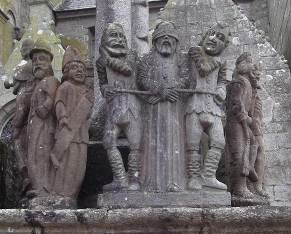 St Thegonnec, Calvary