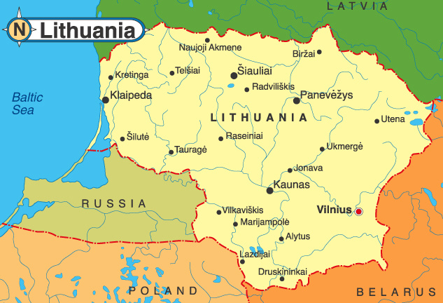 lithuania_map
