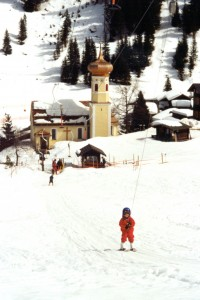 First lift. G Ruck at Gargellen, circa 2000