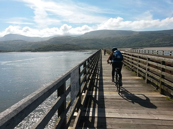 Across the Mawddach estuary from Barmouth