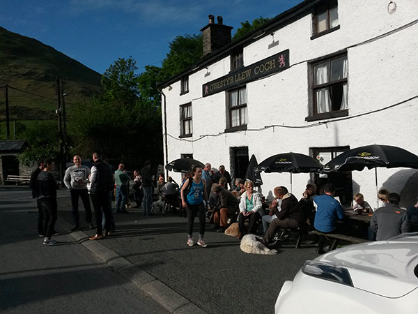 The Red Lion, Dinas Mawddwy