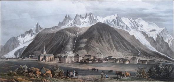 Chamonix in the 19th century
