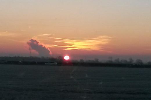 didcot sunrise