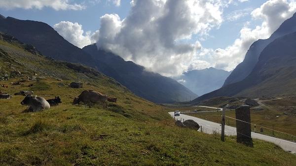 Julier Pass approach