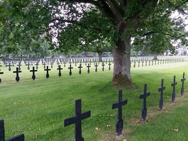 Malmaison German cemetery