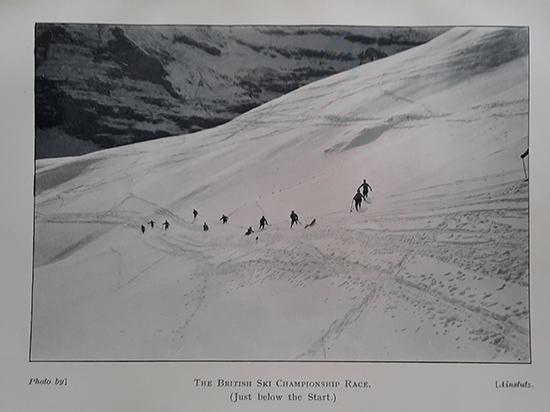 100 years ago, the first British Ski Championship