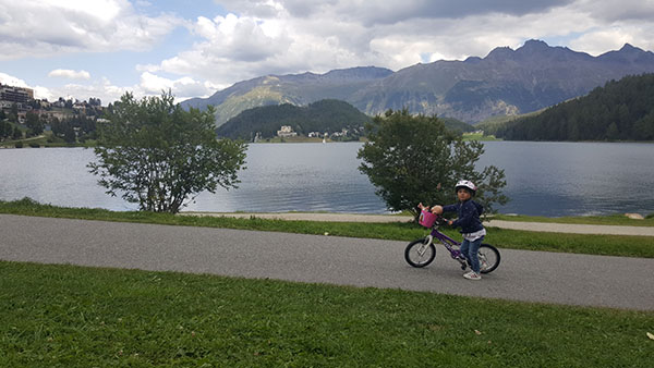 St Moritz cycling