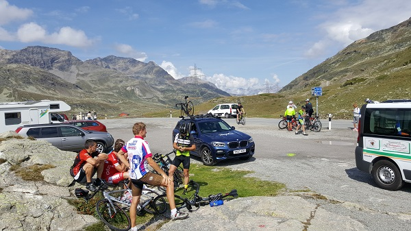 Bernina Pass cycling