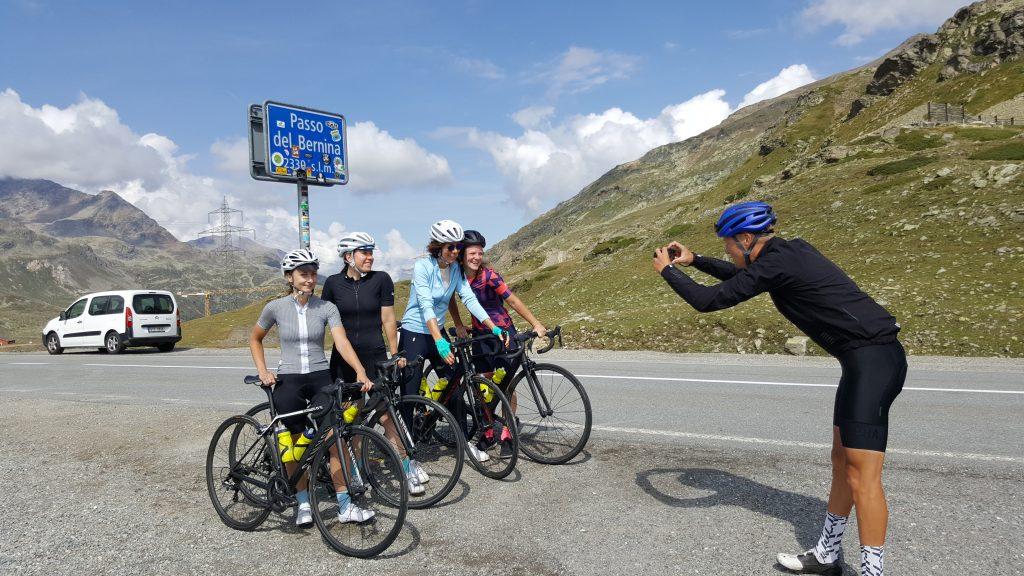 Bernina Pass Rapha cycling