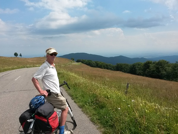 Cycling the Route des Crêtes