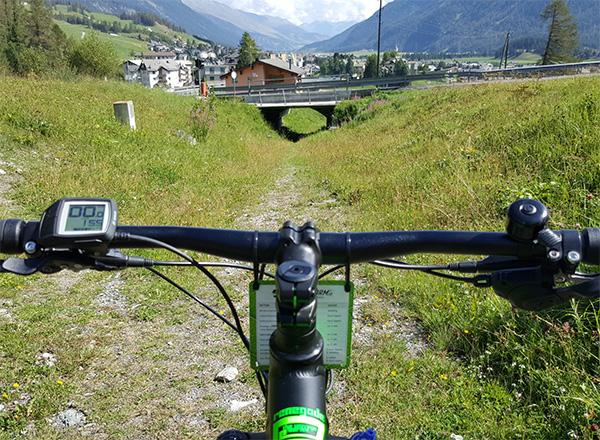 Cresta Run cycling
